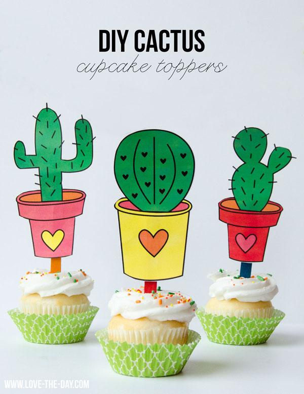 Cinco-De-Mayo-Cupcake-Toppers-DIY-Cactus
