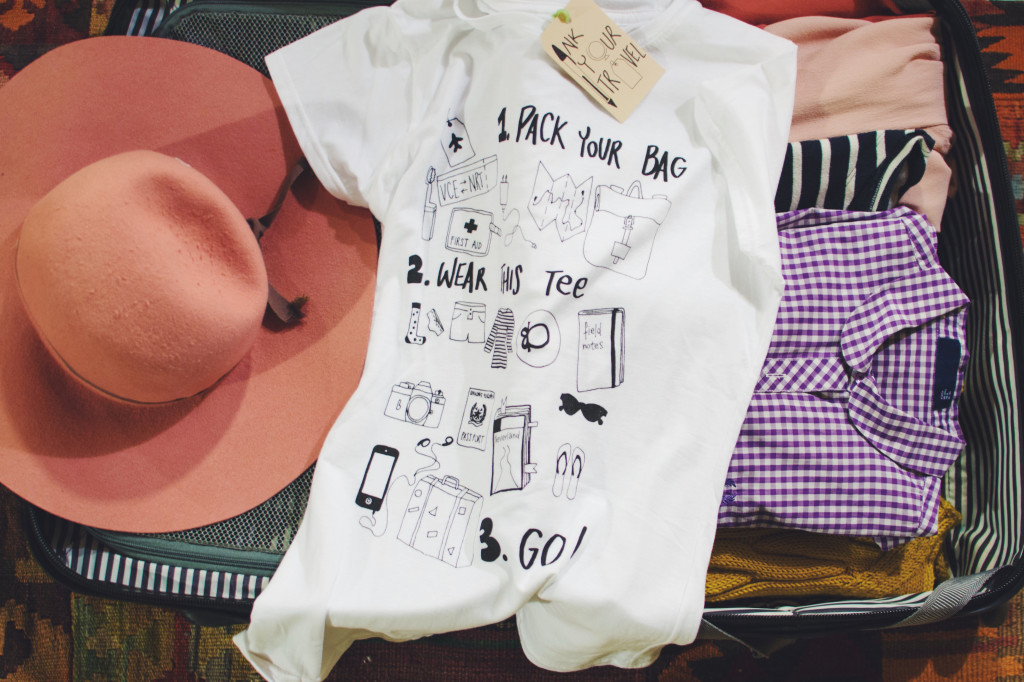 Ink Your Travel - T-shirts for travellers - Pack, Wear, Go 2