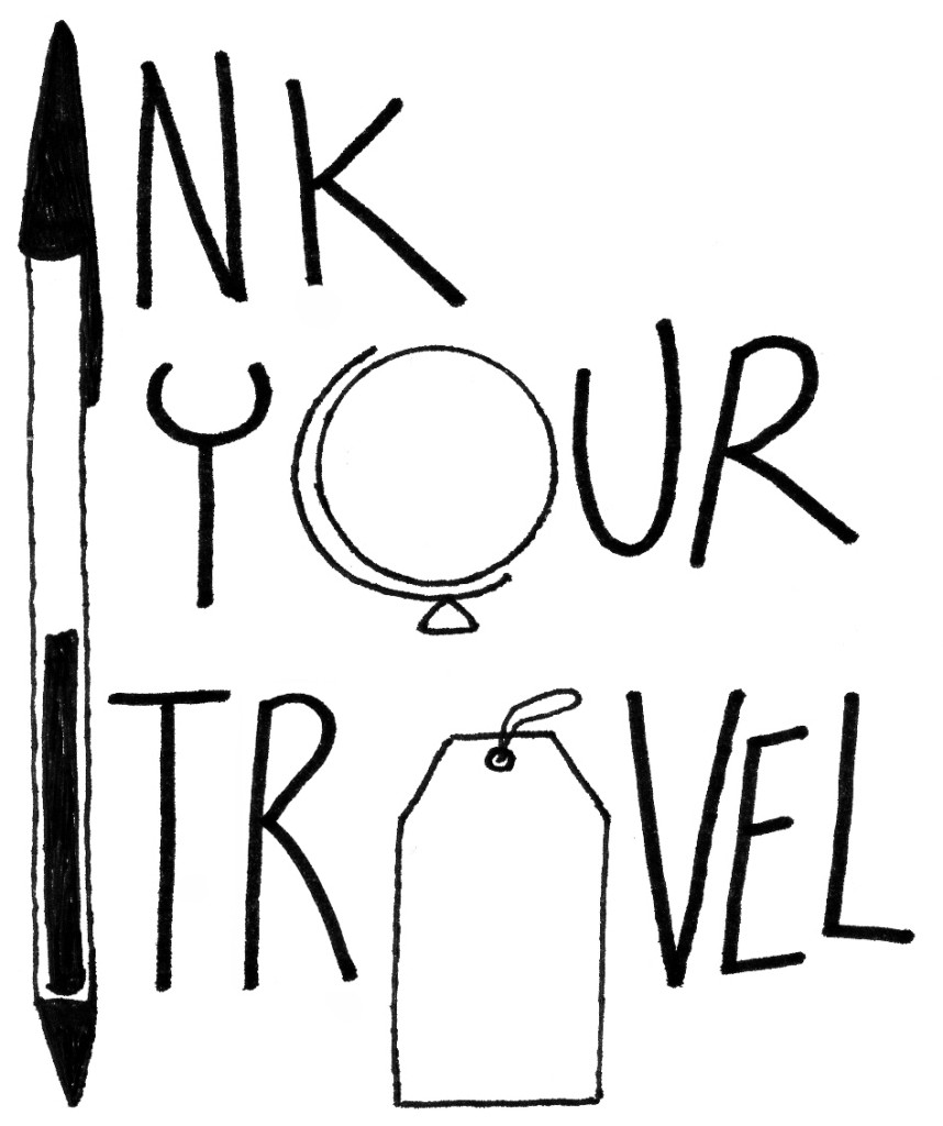 Logo Ink Your Travel - T-shirts for travellers