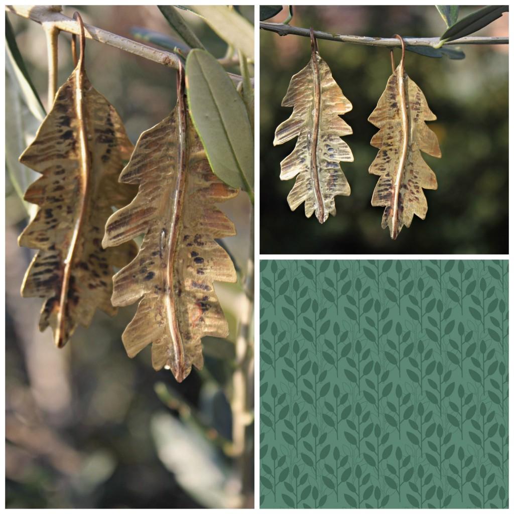 PicMonkey Collage orecchini foglia