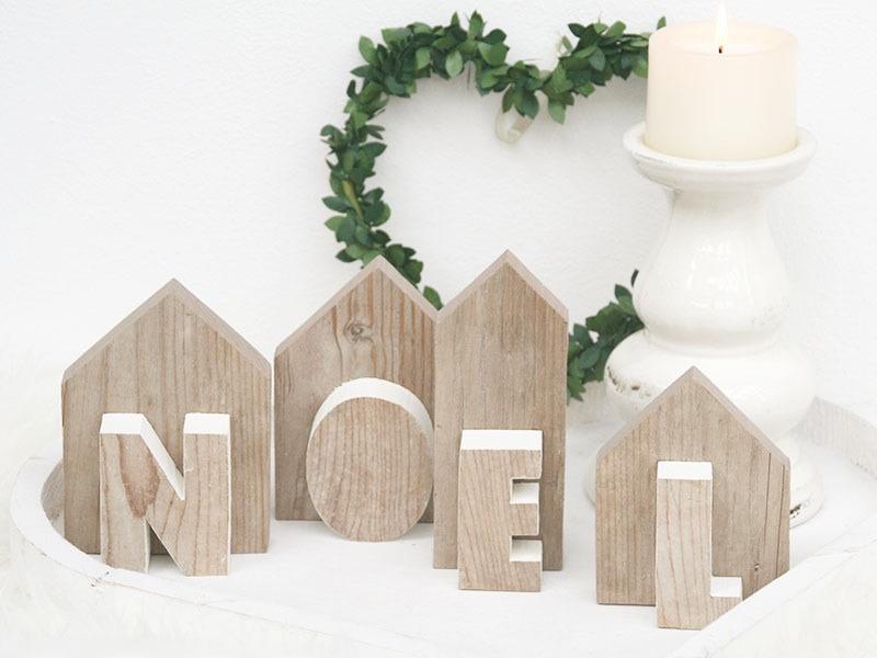 Nuvole di legno nuvolosit variabile - Decorazioni natalizie con il legno ...