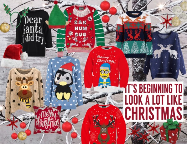 in love with Christmas Jumpers   Polyvore